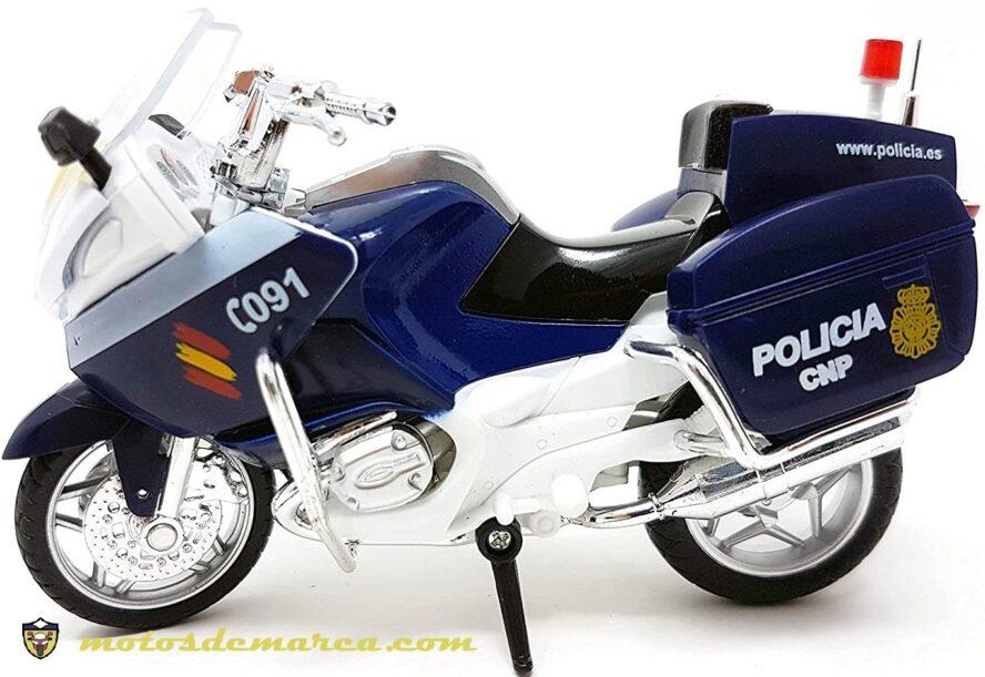 motos de la policia nacional